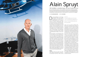 Alain Spruyt, Driesassur, Interview
